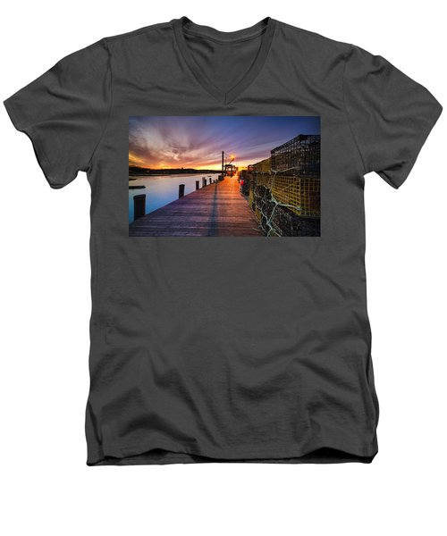 Cape Porpoise Men's V-Neck T-Shirt