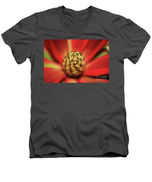 Men's V-Neck T-Shirt featuring the photograph Centrifugal by Stephen Mitchell