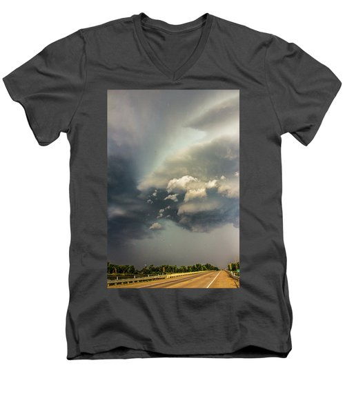 Another Stellar Storm Chasing Day 019 Men's V-Neck T-Shirt