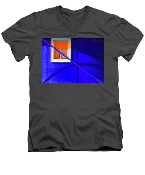 Men's V-Neck T-Shirt featuring the photograph Chromatic by Wayne Sherriff