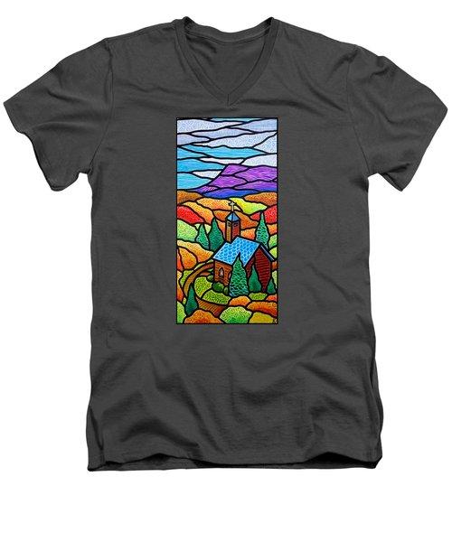 Church In The Wildwood Men's V-Neck T-Shirt