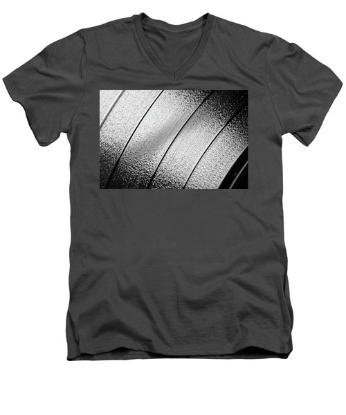 Men's V-Neck T-Shirt featuring the photograph Closeup Macro Photos Of Textures And Pattern For Background As A by Jingjits Photography