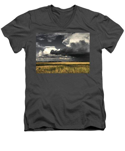 Cloud Men's V-Neck T-Shirt