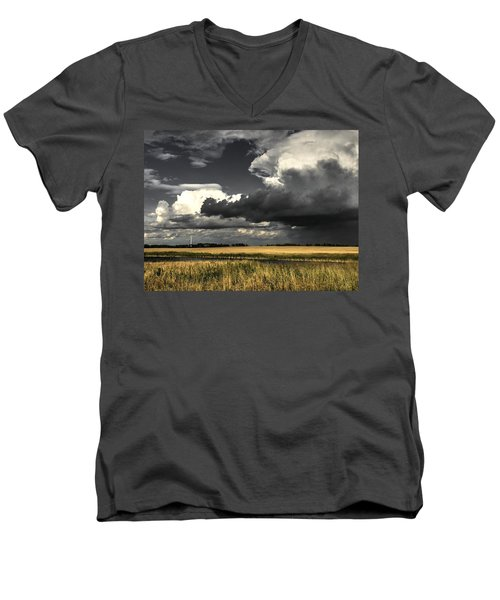 Cloud Men's V-Neck T-Shirt