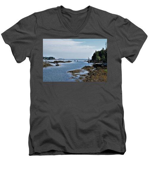 Coastal Maine Men's V-Neck T-Shirt