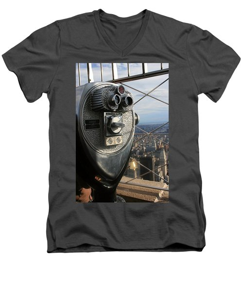 Coin Operated Viewer Men's V-Neck T-Shirt