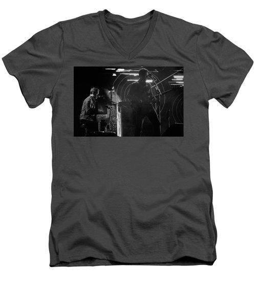 Coldplay9 Men's V-Neck T-Shirt by Rafa Rivas
