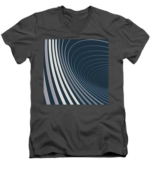 Color Harmonies - Mountain Mist Men's V-Neck T-Shirt
