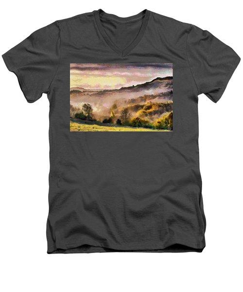 Colors Of Autumn Men's V-Neck T-Shirt