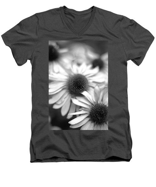 Cone Flower 7 Men's V-Neck T-Shirt by Simone Ochrym
