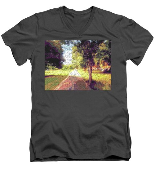 Contemporany Men's V-Neck T-Shirt