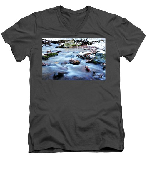 Cool Waters Men's V-Neck T-Shirt