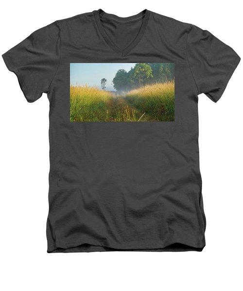 Country Lane Men's V-Neck T-Shirt