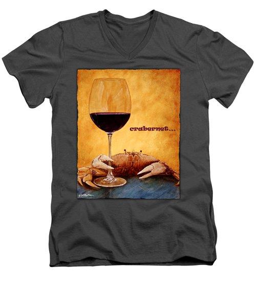 Crabernet... Men's V-Neck T-Shirt