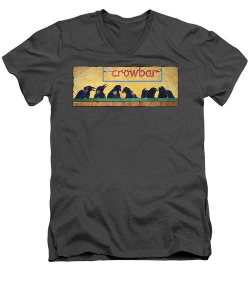 Crowbar Men's V-Neck T-Shirt