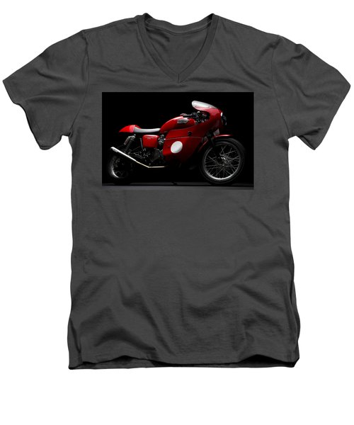 Custom Thruxton Men's V-Neck T-Shirt