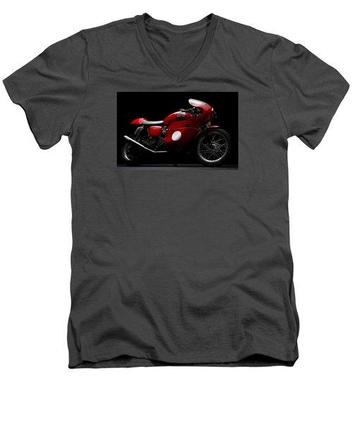Custom Thruxton Men's V-Neck T-Shirt