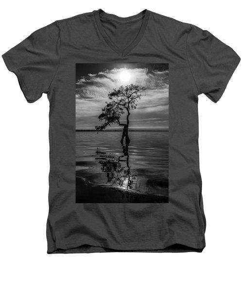 Cypress Reflections Men's V-Neck T-Shirt
