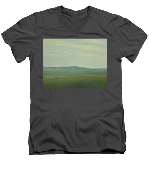 Dagrar Over Salenfjallen- Shifting Daylight Over Distant Horizon 5 Of 10_0029 91x61 Cm Men's V-Neck T-Shirt