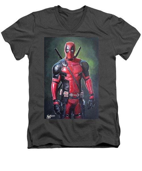 Deadpool Men's V-Neck T-Shirt