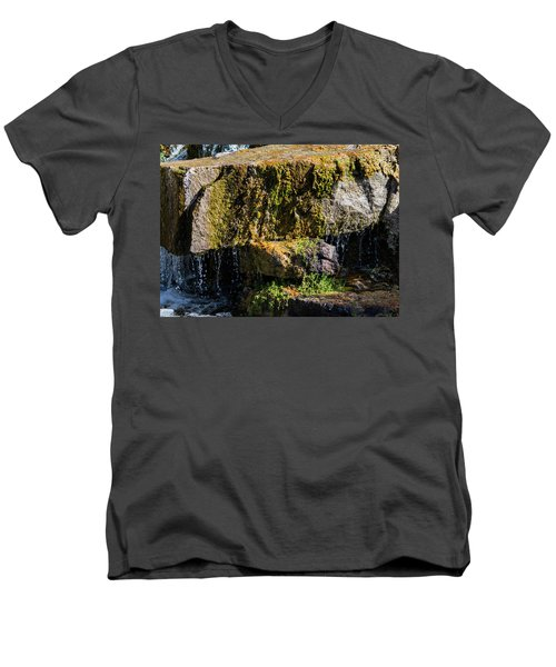 Desert Waterfall 2 Men's V-Neck T-Shirt