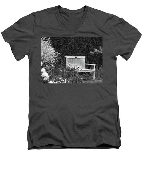 Desolate In The Garden Men's V-Neck T-Shirt