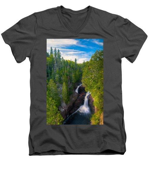 Devil's Kettle  Men's V-Neck T-Shirt