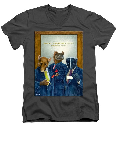 Dewey, Cheetum And Howe... Men's V-Neck T-Shirt