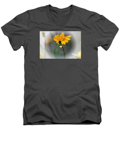 Double Yellow Men's V-Neck T-Shirt