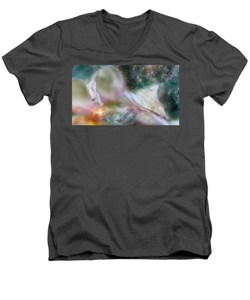 Dragon At The Ego Gate Men's V-Neck T-Shirt