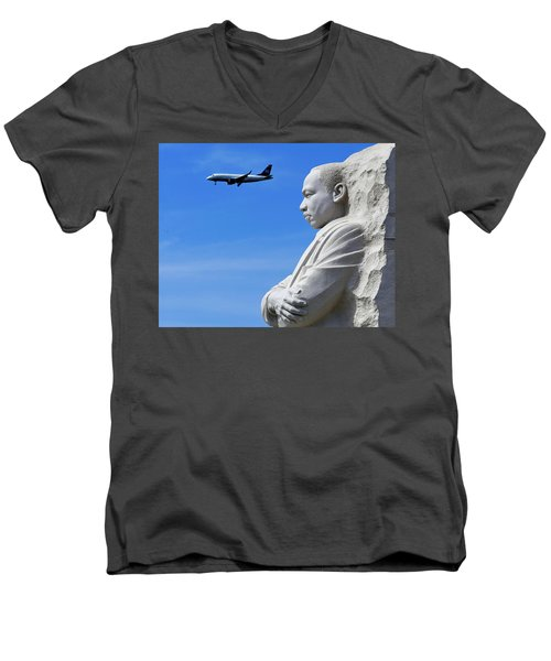 Men's V-Neck T-Shirt featuring the photograph Dream by Skip Hunt