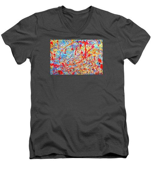 Dripx 4 Men's V-Neck T-Shirt