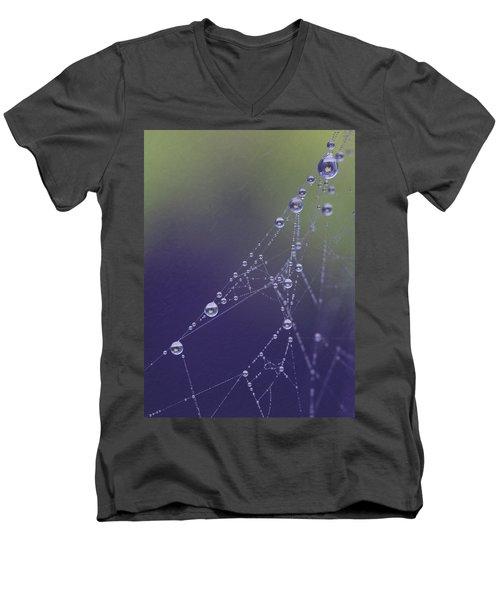 Droplets Men's V-Neck T-Shirt