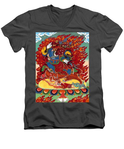 Dudjom's Dorje Drollo Men's V-Neck T-Shirt