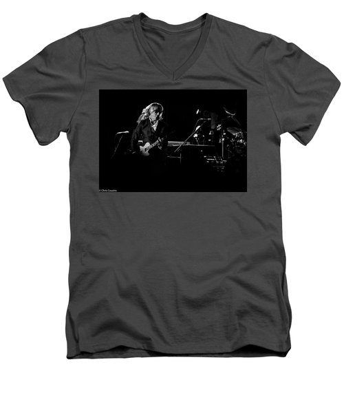 Elton John And Band In 2015 Men's V-Neck T-Shirt