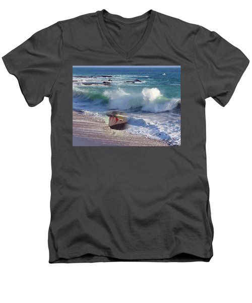 Everything Returns To It's Source Men's V-Neck T-Shirt