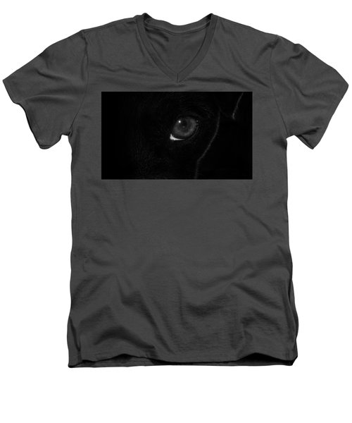 Men's V-Neck T-Shirt featuring the photograph Eye Spy by Nick Bywater