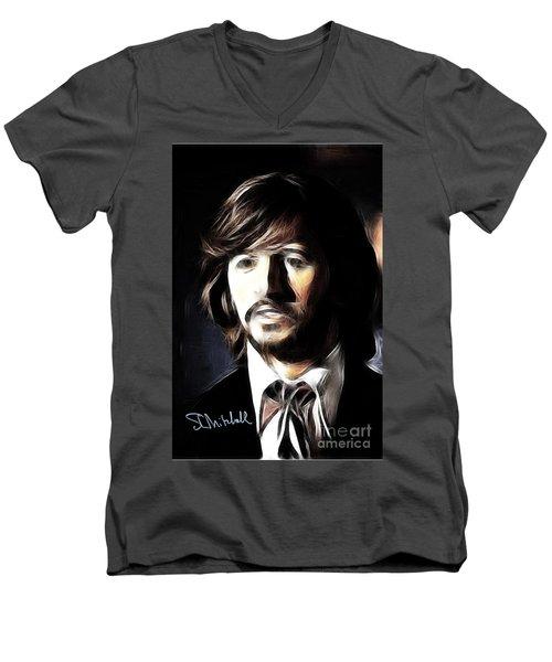 Fabulous Ringo Men's V-Neck T-Shirt