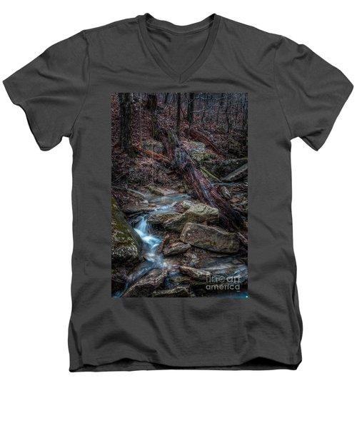 Feeder Creek Men's V-Neck T-Shirt