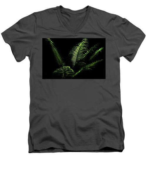 Ferns Men's V-Neck T-Shirt