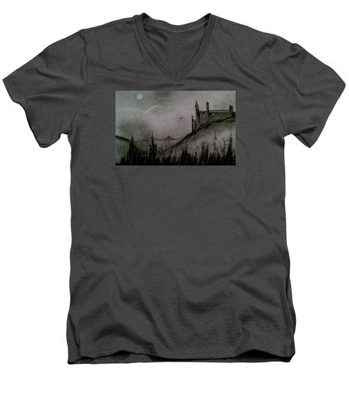 Fetchez La Vache Men's V-Neck T-Shirt