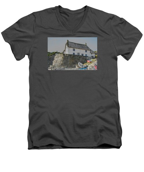 Fishermans Cottage Men's V-Neck T-Shirt