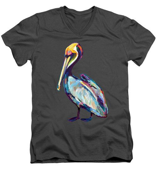 Florida Pelican Men's V-Neck T-Shirt