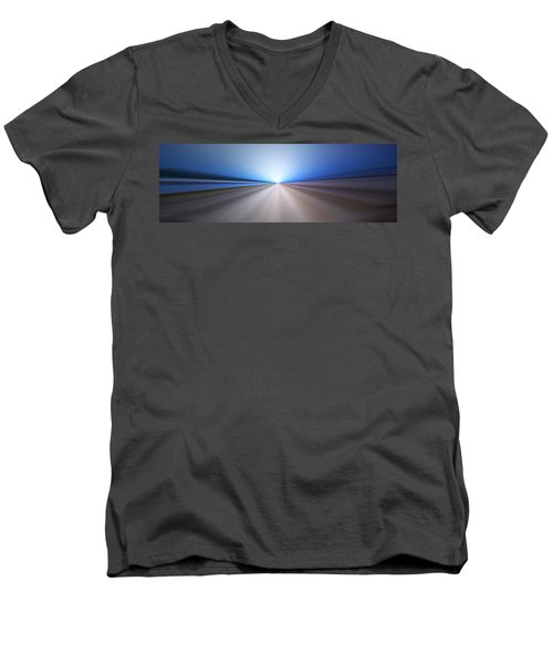 Follow The Light Men's V-Neck T-Shirt