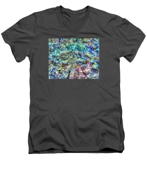 Fone Men's V-Neck T-Shirt by Yury Bashkin