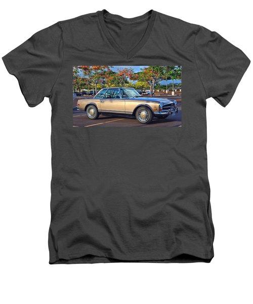 For Neuman Men's V-Neck T-Shirt