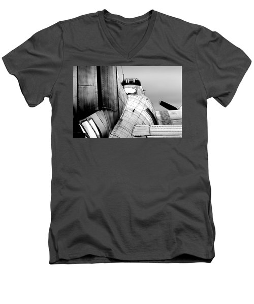 Fortress Of Steel Men's V-Neck T-Shirt