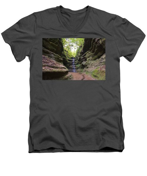 French Canyon Men's V-Neck T-Shirt