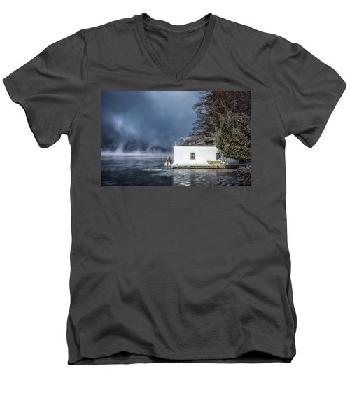 Frosty Morning Men's V-Neck T-Shirt
