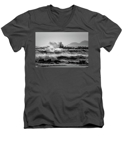 Winter Sea Men's V-Neck T-Shirt